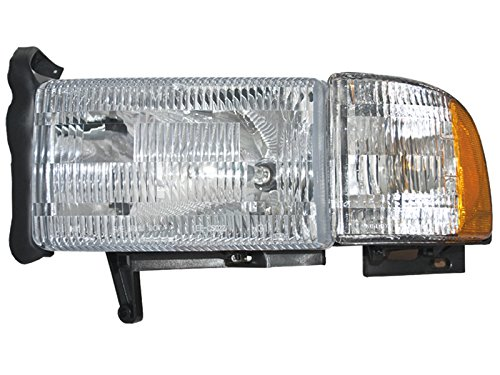 01 dodge ram 1500 head lamp - 8