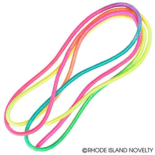 Rhode Island Novelty 28 Chinese Jump Rope Pack of 12