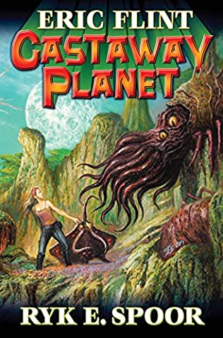 book cover of Castaway Planet