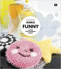 Amazonfr Creative Bubble Funny Lustige Spülschwämme Häkeln