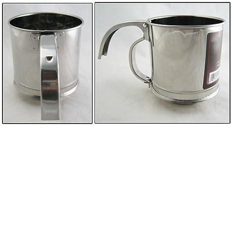 Amazon.com: Mango Tamizador de harina Azúcar de acero ...
