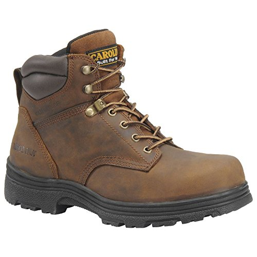 Carolina CA3526 Steel Toe Work Boot-Dark Brown