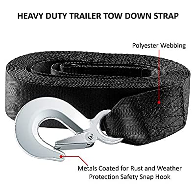 CarBole Trailer Winch Strap 2