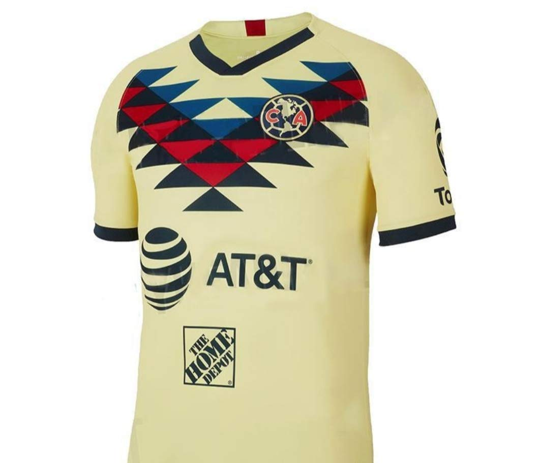 huge selection of 15493 6be81 Amazon.com : Soccer New Club America Yellow Amarilla Home ...