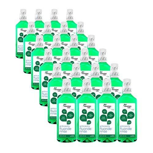 : Mountain Falls Anticavity Fluoride Rinse, Mint, Compare to ACT, 18 Fluid Ounce (Pack of 24)