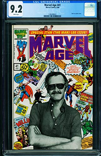 .2 1986-Stan Lee photo cover-comic book 1280488001 ()