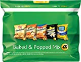 popcorn add on - Frito-Lay 20 Count Variety Pack, Baked and Popped Mix