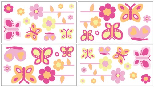 Butterfly Bedroom Theme - 7