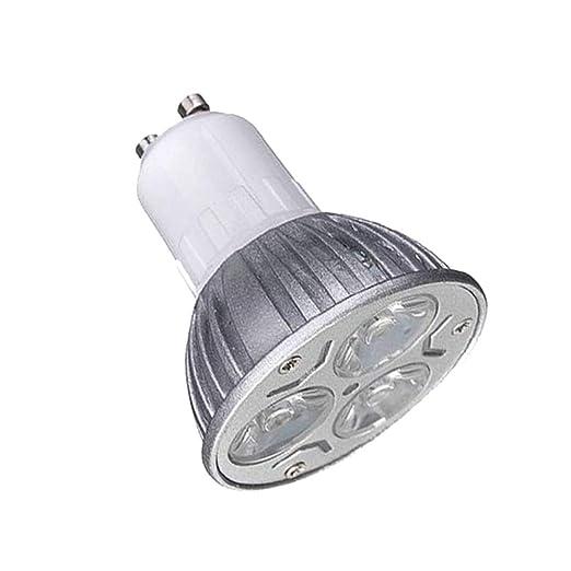 Foco de LED Nuevos Productos GU10 3 W Bombilla LED Equivalente a 25 W lámpara halógena