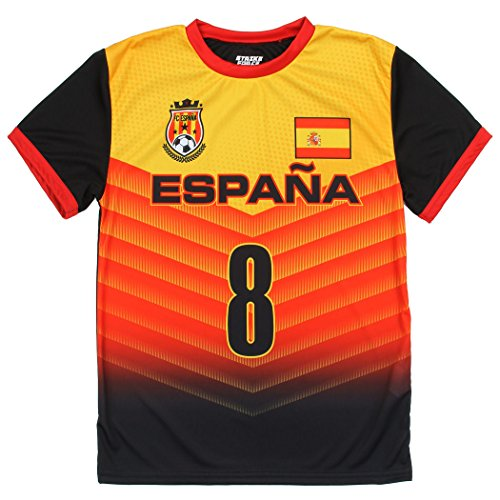 ea1096665 Strike Force Youth World Cup Soccer Jersey - Spain