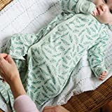 PARADE Kimono Gowns - Signature Prints Green Leaves 3-6 Months