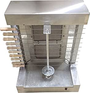 Asala Authentic Doner Kebab Shawarma Heavy Duty Automatic Machine 2 Burners