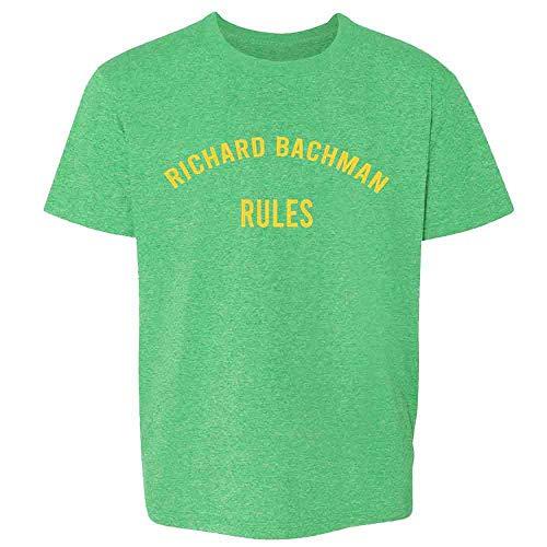 Pop Threads Richard Bachman Rules Horror Funny Heather Irish Green 6 Toddler Kids T-Shirt