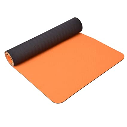 Amazon.com: YZ-Hb Yoga Mat Two-Tone TPE Material ...