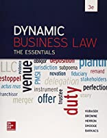 Dynamic Business Law: The Essentials, 3rd Edition Front Cover