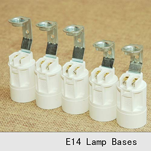 Lamp Base - E14 Bakelite Candle Lamp Holder Retro Screw Lamp Socket Vintage Pendant Light Candle Chandelier Special Lamp Bases 12PCS - (Color: Height 68mm, Base Type: E14)