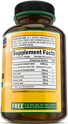 CLA-2000-Metabolism-Booster-100-Natural-Weight-Loss-Supplement-Conjugated-Linoleic-Acid-from-Safflower-Non-GMO-Made-in-USA-by-Bradeson-Naturals
