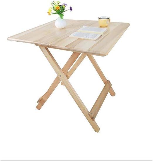 ZXH77f Las mesas Plegables pequeña Mesa de café Mesa de Comedor ...