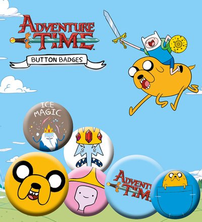 Adventure Time Pin Button Badge Pack - Jake BP0456