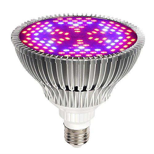 Itimo full spectrum led grow light bulb lights for indoor for Indoor gardening light bulbs