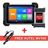 Autel MaxiCOM MK908P Diagnostic Scanner with MaxiVideo Scope MV108 Including ECU Coding, Benz&BMW Programming and Video Inspection