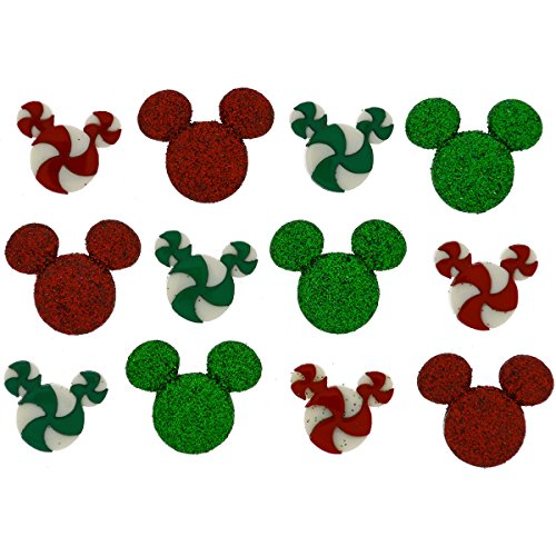 Dress It Up 7926 Disney Button & Embellishments, Holiday Candies (Disney Sewing Buttons compare prices)