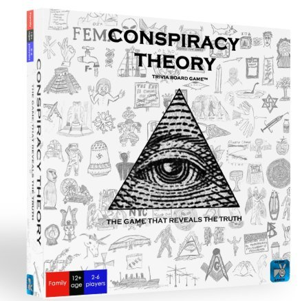 Neddy Games Conspiracy Theory Trivia Board Game by Neddy Games
