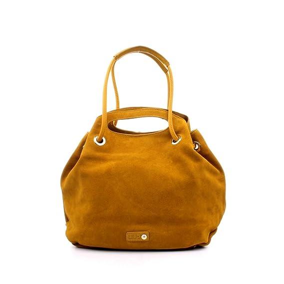 LIU JO N19250P0008 borsa donna pelle scamosciata ROSA