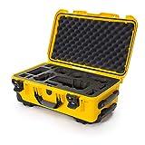 Nanuk 935 Waterproof Carry-On Hard Case with Custom Foam Insert for Sony A7R Size Camera w/Wheels - Yellow (935-ESON4)
