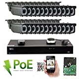 GW 32 Channel 4K NVR 1920P Video Security Camera System - 24 x