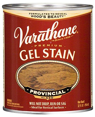 Rust-Oleum 224457H Provincial Varathane Premium Gel Stain, 1 quart, 2 pint Can (Pack of ()