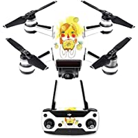 Skin for DJI Spark Mini Drone Combo - March Pineapple| MightySkins Protective, Durable, and Unique Vinyl Decal wrap cover | Easy To Apply, Remove, and Change Styles | Made in the USA