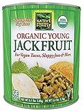 Native Forest Organic Young Jackfruit, Vegan Meatless Alternative, Foodservice Size, 6.1 Pound Can