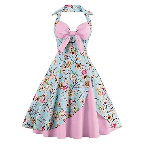 vintage-halter-cocktail-dress-1950s-retro-swing-homecoming-dresses-light-pink-floral-l