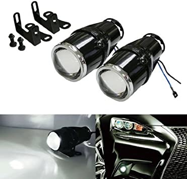 Front Bumper Mounted Fog Light Lamp LH RH Set of 2 Pair for BMW X1 SUV Brand New