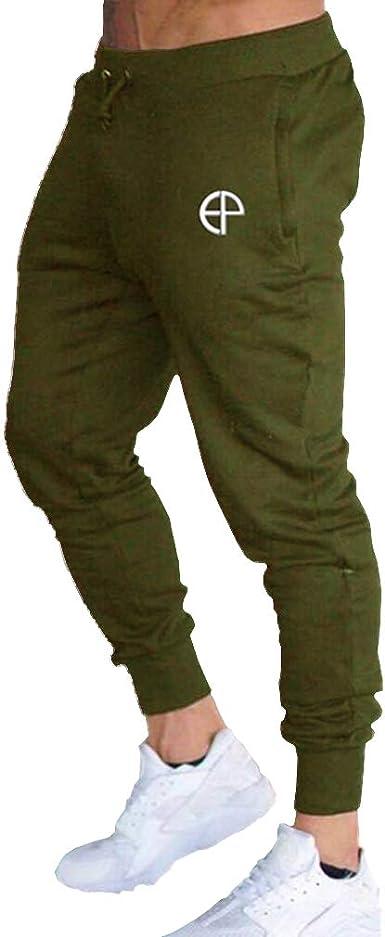 Hombre Cintura Baja Pantalones Largos, Moda y Respirable ...
