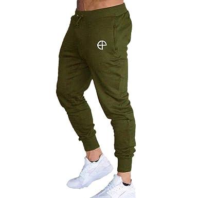 Hombre Cintura Baja Pantalones Largos, Moda y Respirable Pantalón ...
