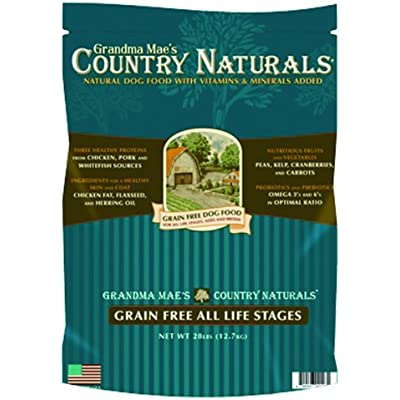 Grandma Mae'S 79700128 28 Lb Country Naturals Premium All Natural Dog Food Grain Free, One Size