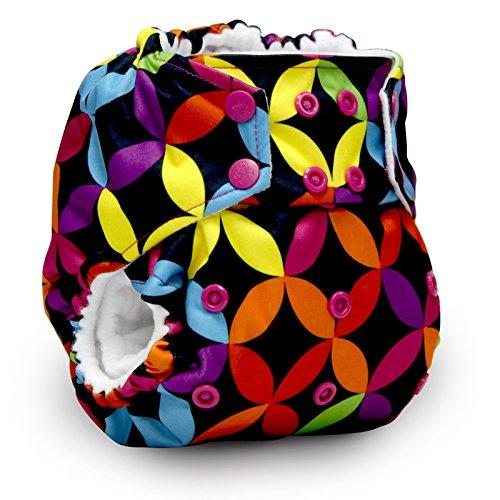 Rumparooz One Size Cloth Pocket Diaper, Snap - 6 Pack - Plus Exclusive Reusable Kanga Care Tote Bag- Jeweled by Kanga Care (Image #1)