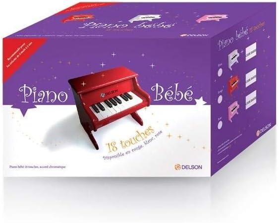 Delson 1822W Piano para ni/ño o beb/é color blanco