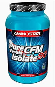 Aminostar CFM Whey Protein Isolate 90 - 2 kg Vanilla: Amazon ...
