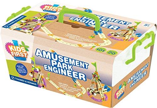 Kids First Level 1   Amusement Park Engineer Gear Apparel Toys  2017 Christmas Toys