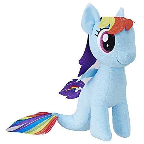 My Little Pony The Movie Rainbow Dash Sea-Pony Soft Plush]()