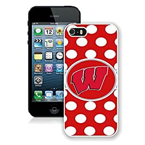 Beautiful Designed Case With Ncaa Big Ten Conference Football Wisconsin Badgers 6 White For Case For Ipod Touch 4 Cover