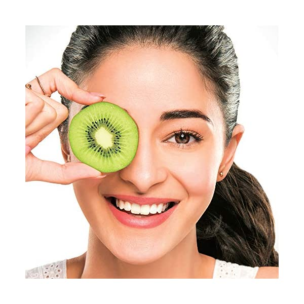 Lakme Blush & Glow Kiwi Freshness Gel Face Wash, with Kiwi Extracts, 100g 2021 July Imagine the delight of a fresh fruity splash every time you washed your face Contains extract with 100% real kiwi Infused with soft cleansing beads