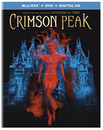 Blu-ray : Crimson Peak (With DVD, Ultraviolet Digital Copy, Digitally Mastered in HD, 2 Pack, 2 Disc)
