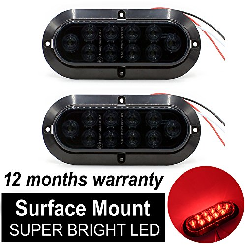 6 Inch Oval Led Tail Lights in US - 5