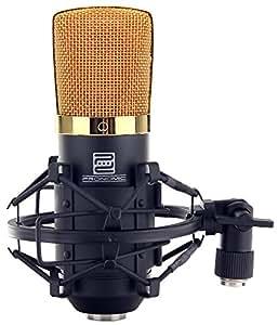Pronomic CM-22 - Micrófono para estudio de membrana grande, incluye suspensión