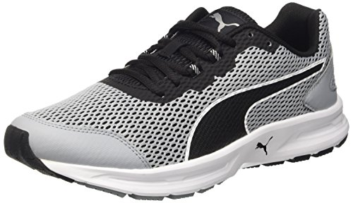 Puma Descendant V4 - Zapatillas de running Unisex adulto Quarry/Nero/Bianco