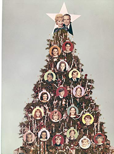 Yours Mine and Ours Lucille Ball Henry Fonda Christmas Tree 8x10 Transparency